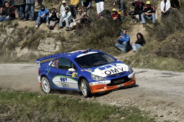 2006 FIA World Rally Champs. Round four Rally Catalunya Spain. 24-26th March 2006Manfred Stohl, Peugeot, action.World Copyright: Mcklein/LAT