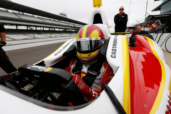 11-17 May, 2013, Indianapolis, Indiana, USA Helio Castroneves © 2013, Michael L. Levitt LAT Photo USA.