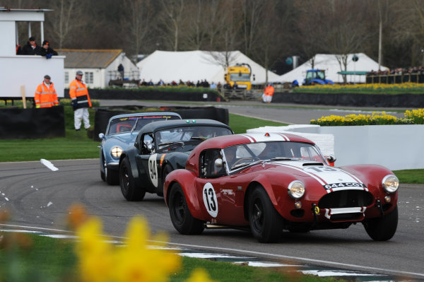 2017 75th Members Meeting Goodwood Estate, West Sussex,England 18th - 19th March 2017 Graham Hill Trophy Pirro Lynn Cobra World Copyright : Jeff Bloxham/LAT Images Ref : Digital Image