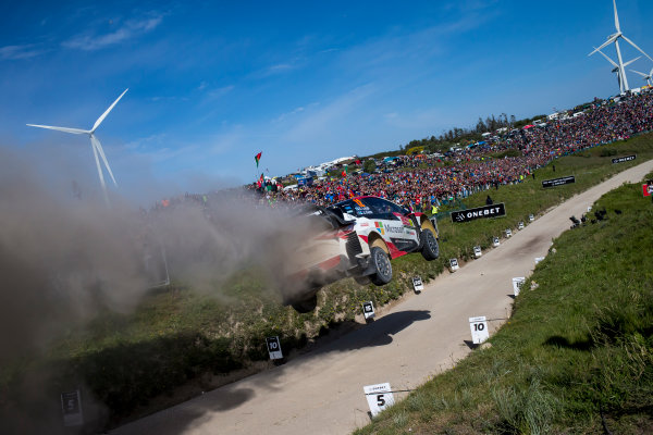 2017 FIA World Rally Championship, Round 06, Rally Portugal, May 18 - 21 2017, Esapekka Lappi, Toyota, action, Worldwide Copyright: McKlein/LAT
