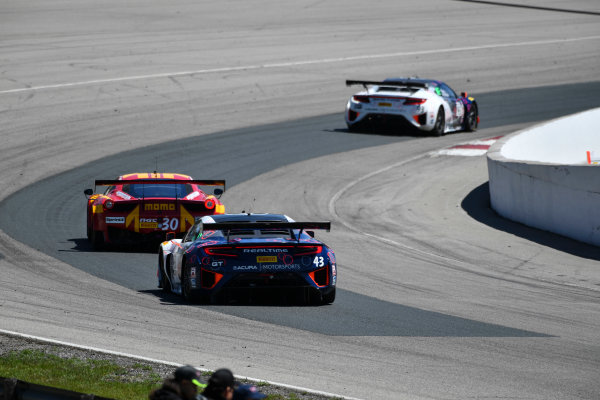 Pirelli World Challenge Victoria Day SpeedFest Weekend Canadian Tire Motorsport Park, Mosport, ON CAN Saturday 20 May 2017 Ryan Eversley/ Tom Dyer World Copyright: Richard Dole/LAT Images ref: Digital Image RD_CTMP_PWC17085