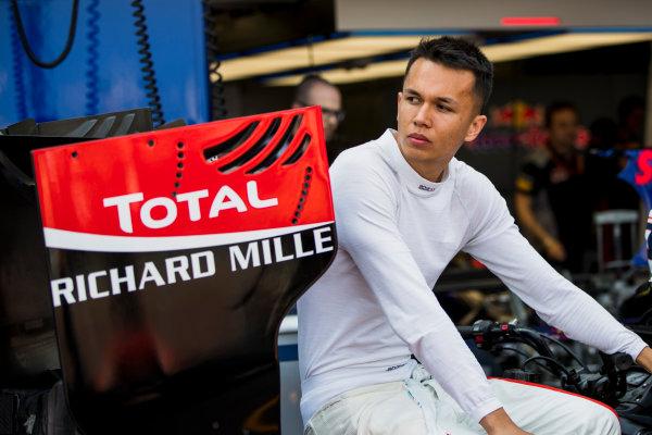 2017 FIA Formula 2 Round 3. Monte Carlo, Monaco. Thursday 25 May 2017. Alexander Albon (THA, ART Grand Prix)  Photo: Zak Mauger/FIA Formula 2. ref: Digital Image _56I5681
