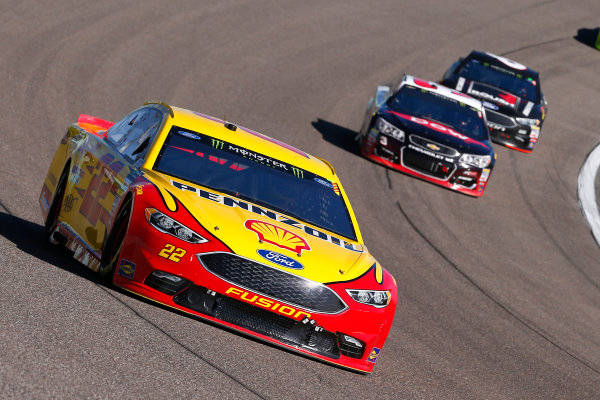 Monster Energy NASCAR Cup Series Ford EcoBoost 400 Homestead-Miami Speedway, Homestead, FL USA Sunday 19 November 2017 Joey Logano, Team Penske, Ford Fusion World Copyright: Russell LaBounty LAT Images