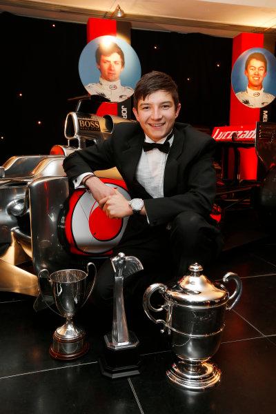 Sunday 2nd December 2012  2012 McLaren Autosport BRDC Young Driver of the Year Award winner Jake Dennis. World Copyright:Glenn Dunbar/  ref: Digital Image _89P1101