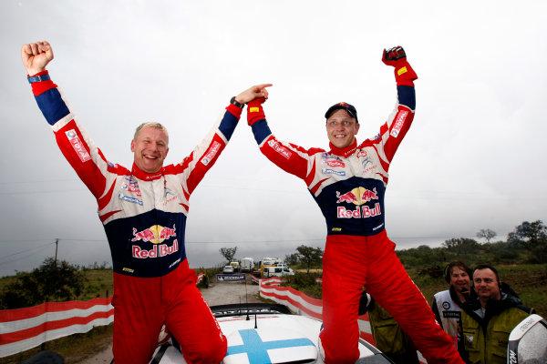 Round 04-Rally Portugal 28/3-1/4 2012. Mikko Hirvonen, Jarmo Lehtinen,Citroen WRC, PortraitWorldwide Copyright: McKlein/LAT