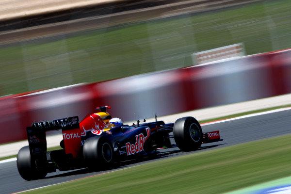 Circuit de Catalunya, Barcelona, Spain11th May 2012Sebastian Vettel, Red Bull RB8 Renault. World Copyright:Andy Hone/LAT Photographicref: Digital Image  HONY9240
