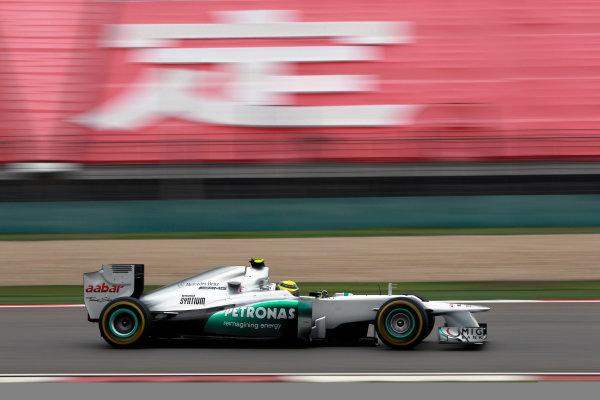 Shanghai International Circuit, Shanghai, China13th April 2012Nico Rosberg, Mercedes F1 W03. World Copyright:Andrew Ferraro/LAT Photographicref: Digital Image _Q0C1972