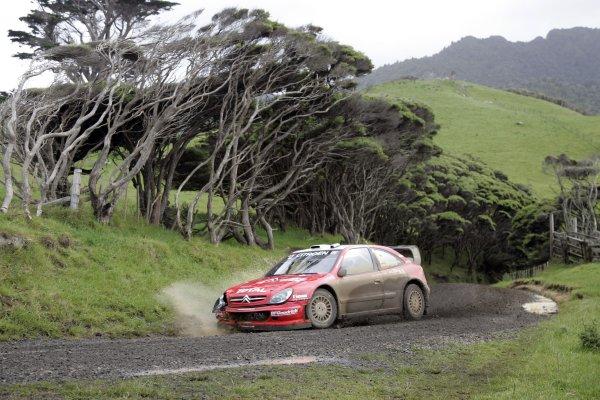 2006 FIA World Rally Champs. Round 6Rally New Zealand, 16-19th November 2006Xavier Pons, Citroen, actionWorld Copyright: McKlein/LAT
