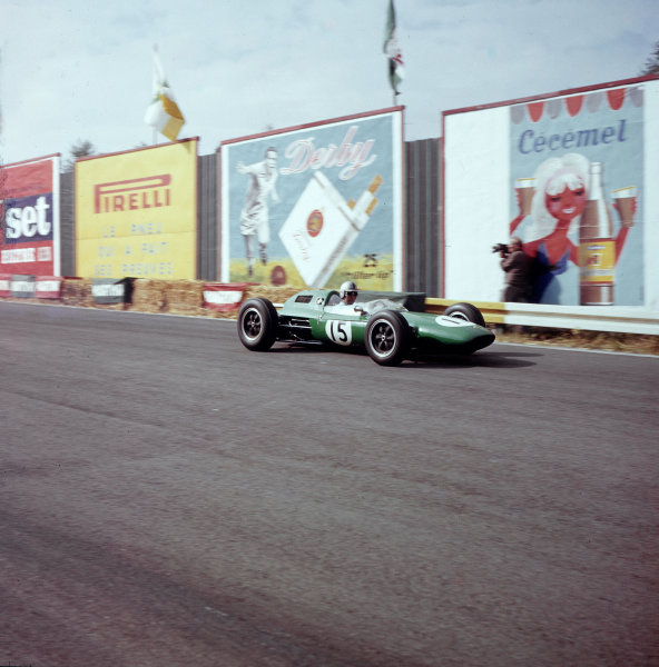 Spa-Francorchamps, Belgium.15-17 June 1962.Jack Brabham (Lotus 24Climax) 6th position.Ref-3/0521A.World Copyright - LAT Photographic