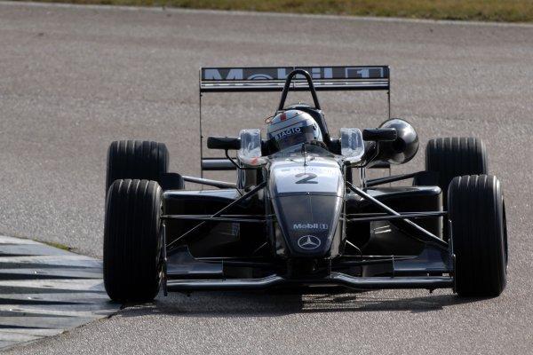 2007 British Formula Three Championship.Rockingham, England 29th and 30th September 2007.Jonathan Kennard (GBR) Raikkonen Roberston Racing Dallara MercedesWorld Copyright: Jakob Ebrey/LAT
