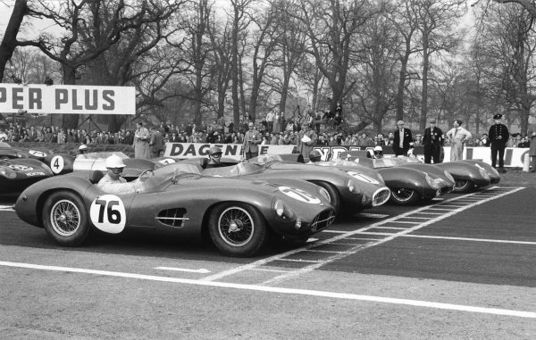 Oulton Park, Cheshire, England. 12th April 1958.
