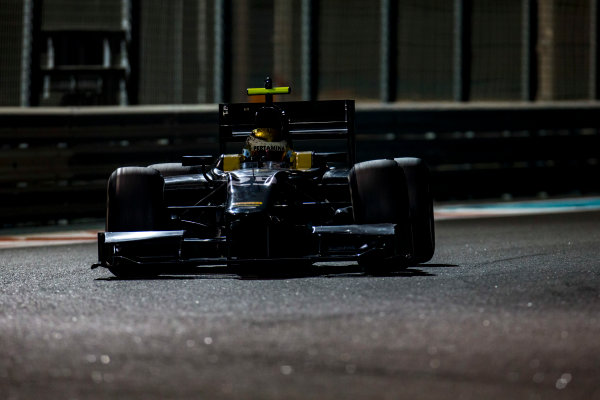 2016 GP2 Series Test 3 Yas Marina Circuit, Abu Dhabi, United Arab Emirates. Friday 2 December 2016. Sean Gelael (INA, Arden International)  Photo: Zak Mauger/GP2 Series Media Service. ref: Digital Image _L0U4850