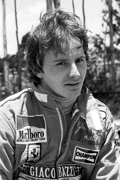 1979 Brazilian Grand Prix. Interlagos, Sao Paulo, Brazil. 2-4 February 1979. Gilles Villeneuve (Ferrari) 5th position, portrait. World Copyright - LAT Photographic