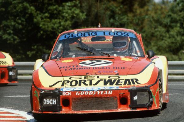 Le Mans, France. 9th - 10th June 1979.John Fitzpatrick/Jean-Louis Lafosse/Harald Grohs (Porsche 935), retired, action. World Copyright: LAT Photographic.Ref: 79LM21.