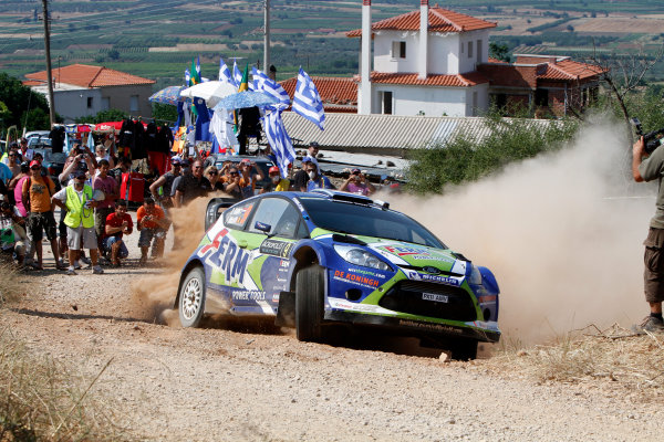 Round 07 Acropolis Rally. 16th - 19th June 2011.Dennis Kuipers, Ford WRC, Action.Worldwide Copyright: McKlein/LAT