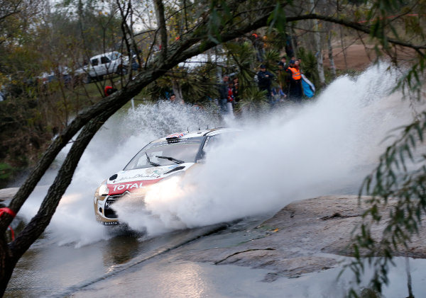 2014 World Rally Championship Rally Argentina 8th - 11th May 2014 Kris Meeke, Citroen, action Worldwide Copyright: McKlein/LAT