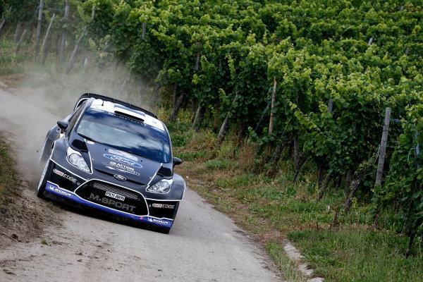 Round 09-Rallye Deutschland 23-26/8-2012.Ott Tanka, Ford WRC, Action.Worldwide Copyright: McKlein/LAT
