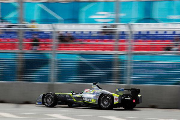 2014/2015 FIA Formula E Championship. Moscow ePrix, Moscow, Russia. Saturday 6 June 2015 Antonio Garcia (SPA)/China Racing - Spark-Renault SRT_01E. Photo: Zak Mauger/LAT/Formula E ref: Digital Image _MG_8277