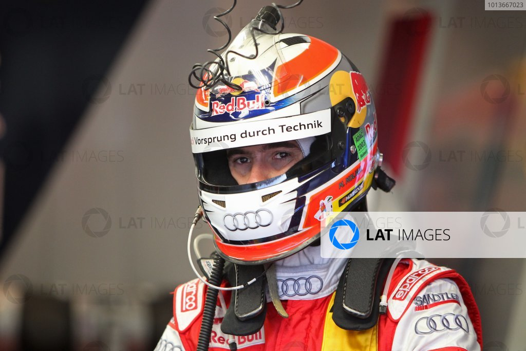 Miguel Molina (ESP), Audi Sport Team Abt Junior, Red Bull Audi A4 DTM (2008).DTM, Rd8, Oschersleben, Germany, 16-18 September 2011 Ref: Digital Image dne1118se504
