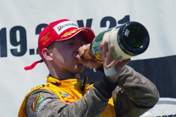 A.J Allmendinger (USA) 3rd. Champ Car World Series, Rd3, Tecate Grand Prix, Fundidora Park, Monterrey, Mexico, 19-21 May 2006. DIGITAL IMAGE
