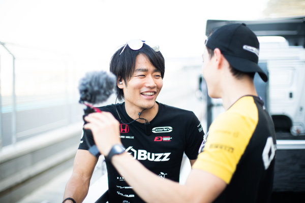 Nobuharu Matsushita (JPN, CARLIN) and Jack Aitken (GBR, CAMPOS RACING)