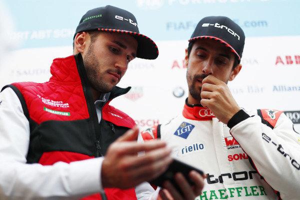 Daniel Abt (DEU), Audi Sport ABT Schaeffler, and Lucas Di Grassi (BRA), Audi Sport ABT Schaeffler