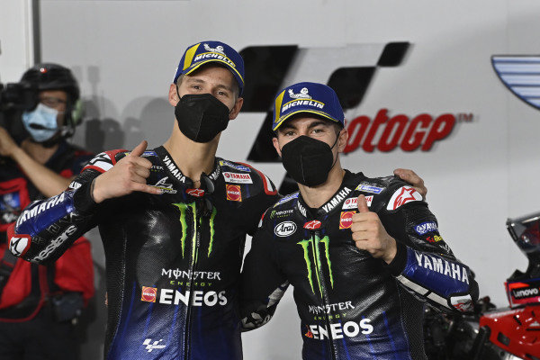 Fabio Quartararo, Yamaha Factory Racing, Maverick Vinales, Yamaha Factory Racing.