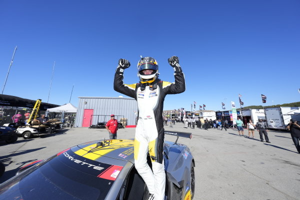 #4: Corvette Racing Corvette C8.R, GTLM: Tommy Milner, Nick Tandy, winner, victory lane