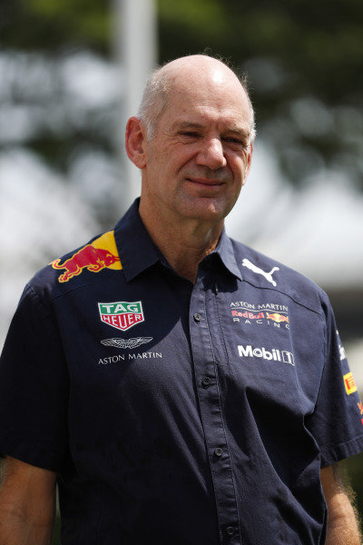 Adrian Newey, Chief Technical Officer, Red Bull Racing.