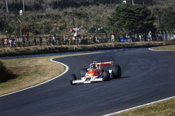 James Hunt, McLaren M26 Ford.