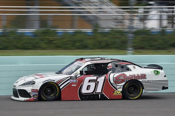 #61: Chad Finchum, Motorsports Business Management, Toyota Supra Amana / SmithBilt Homes