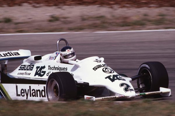 1981 Dutch Grand Prix.Zandvoort, Holland.28-30 August 1981.Carlos Reutemann (Williams FW07C Ford).Ref-81 HOL 27.World Copyright - LAT Photographic
