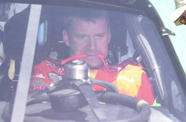 2001,NASCAR,March30,Apr 1,Texas,Busch series,2001Jeff Burton strapping into his race car-Robert LeSieur2001,LAT Photographic