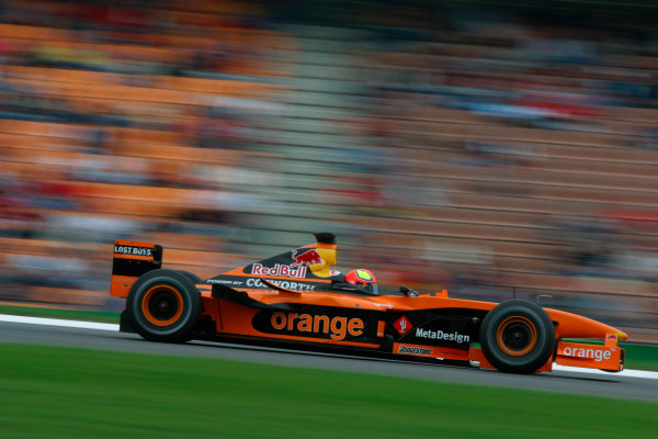 2002 German Grand Prix - Friday PracticeHockenheim, Germany. 26th July 2002World Copyright - LAT Photographicref: digital file