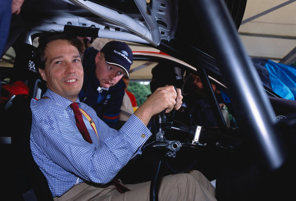 2002 Goodwood Festival of SpeedGoodwood, England. 12th - 14th July 2002.Lord March - portrait.World Copyright: Jeff Bloxham/LAT Photographicref: 35mm Image A23