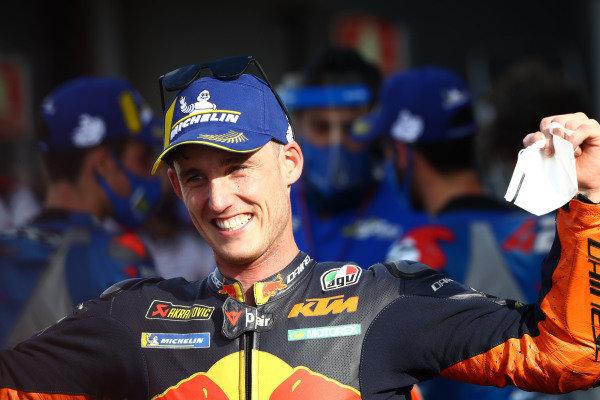 Third place Pol Espargaro, Red Bull KTM Factory Racing.