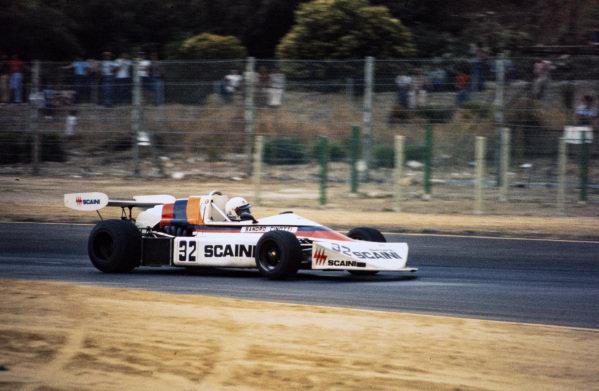 Sandro Cinotti, March 752 BMW.