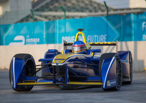 FIA Formula E Championship 2015/16. Beijing ePrix, Beijing, China. Friday session Renault E-Dams' Nico Prost  Beijing, China, Asia. Friday 23 October 2015 Photo:  / LAT / FE ref: Digital Image _L2_3627