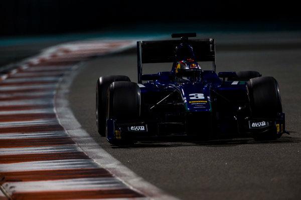 2015 GP2 Series Test 3. Yas Marina Circuit, Abu Dhabi, United Arab Emirates. Thursday 3 December 2015. Dean Stoneman (GBR, Carlin). World Copyright: Zak Mauger/LAT Photographic. ref: Digital Image _L0U2971