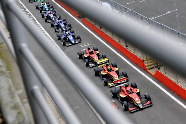 2016 BRDC British Formula 3 Championship, Brands Hatch, Kent. 16th - 17th April 2016. BRDC F3 Brands Hatch. World Copyright: Ebrey / LAT Photographic.