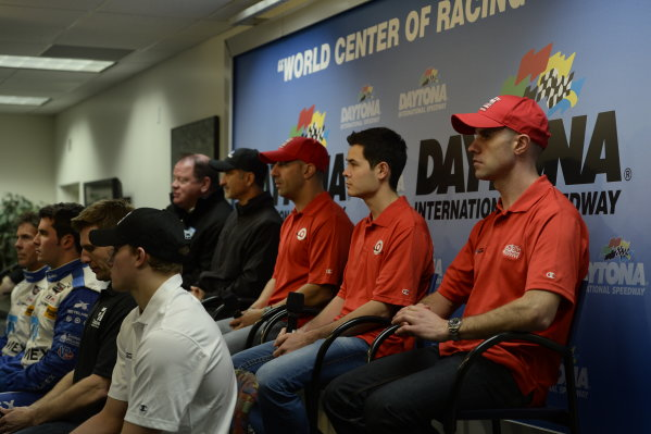 3-5 January, 2014, Daytona Beach, Florida USA Chip Ganassi Racing Announces 2014 IMSA Plans @2014, Richard Dole LAT PHOTO USA