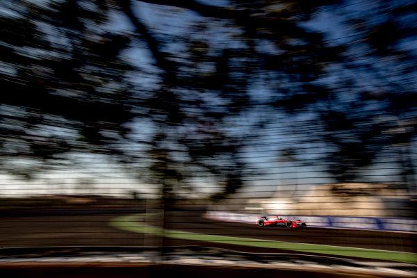 2016/2017 FIA Formula E Championship. Marrakesh ePrix, Circuit International Automobile Moulay El Hassan, Marrakesh, Morocco. Saturday 12 November 2016. Felix Rosenqvist (SWE), Mahindra Racing, Spark-Mahindra, Mahindra M3ELECTRO.  Photo: Zak Mauger/LAT/Formula E ref: Digital Image _L0U6573