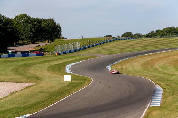 FIA Formula E Season 3 Testing - Day Two. Donington Park Racecourse, Derby, United Kingdom. Nick Heidfeld, Mahindra Racing, Spark-Mahindra. Wednesday 24 August 2016. Photo: Adam Warner / LAT / FE. ref: Digital Image _14P2299