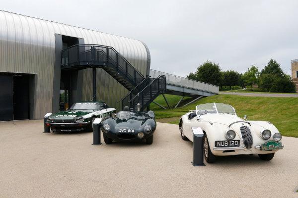 Jaguar Racing Official Formula E Launch Jaguar Heritage Collections Centre, Gaydon, UK Thursday 8 September 2016 . World Copyright: Andrew Ferraro/LAT Photographic ref: Digital Image _14P4327