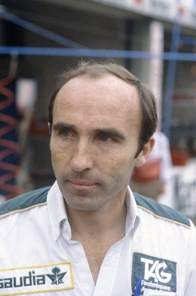 1981 Italian Grand PrixMonza, Italy. 11-13 September 1981.Frank Williams (Albilad-Williams Racing Team), portrait. Ref - 81ITA22.World Copyright - LAT Photographic