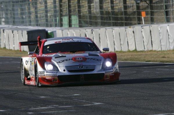 2006 Japanese Super GT ChampionshipSuzuka, Japan. 19th March 2006GT500 winners - Juichi Wakisaka/Andre Lotterer (Opel Inerface SC430) 1st position. Action.World Copyright: Yasushi Ishihara/LAT Photographicref: Digital Image2006SGT_R1_004 JPG(2 8MB)