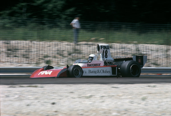 Dijon-Prenois, France. 7th July 1974.