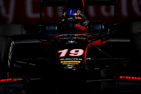 2017 FIA Formula 2 Round 4. Baku City Circuit, Baku, Azerbaijan. Friday 23 June 2017. Johnny Cecotto Jr. (VEN, Rapax)  Photo: Zak Mauger/FIA Formula 2. ref: Digital Image _54I0349