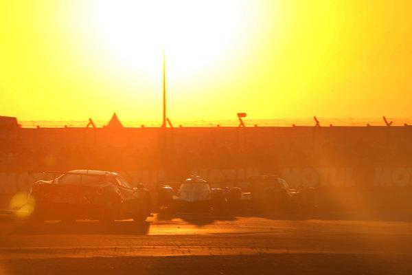 2017 Le Mans 24 Hours Circuit de la Sarthe, Le Mans, France. Thursday 15 June 2017 #84 JMW Motorsport Ferrari 488 GTE: Robert Smith, Will Stevens, Dries Vanthoor  World Copyright: JEP/LAT Images