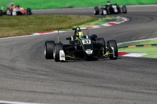 2017 FIA Formula 3 European Championship. Round 2 - Monza, Italy. Sunday 30 April 2017. Lando Norris, Carlin Dallara F317 - Volkswagen World Copyright: James Gasperotti/LAT Images ref: Digital Image _JG14708